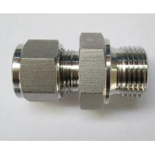 Metal Tube BSPP Thread Ferrule Male Connector