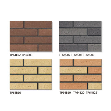Rustic thin brick veneer outdoor tiles