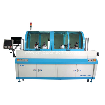 Card Milling and Wire Pulling Out Machine