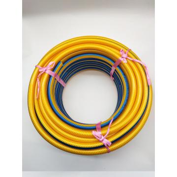 Braided rubber high pressure spray hose
