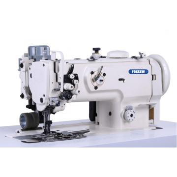 Double Needle Heavy Duty Zipper Attaching Sewing Machine