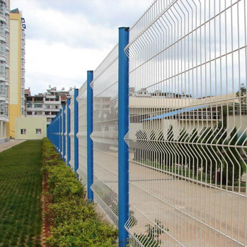 3D Curved Wire Mesh Fencing Panel
