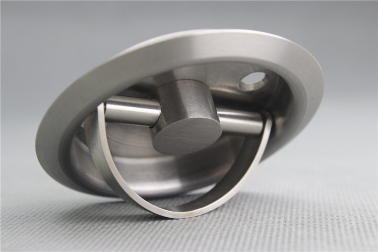 Stainless Steel Recessed Cup Handle