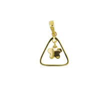 10 Years manufacturer for K Gold Pendant,Fox Charm K Gold Pendant,Yellow Gold Pendant Manufacturer in China 18K gold Butterfly Pendant export to Brunei Darussalam Suppliers