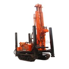 Customized for Air Compressor Stone Drilling Machine Crawler DTH Water Well Drilling Rig supply to Cambodia Suppliers