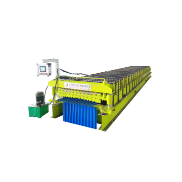 latest technology roof making machine color roll forming