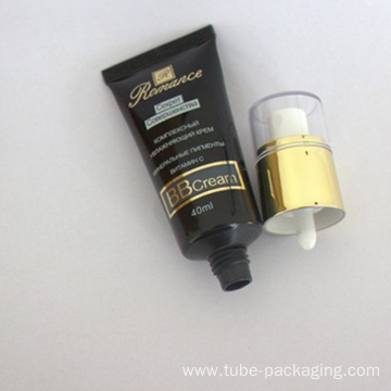 50ml cosmetic plastic tube for BB/CC cream packaging