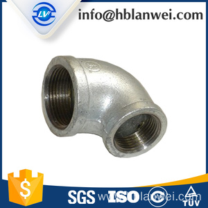 OEM China for Malleable Iron Cross Fitting Reducing Elbow 90R M.I pipe fittings supply to Spain Factories