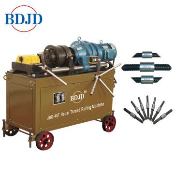 High Quality Anchor Bolt Parallel Thread Rolling Machine for Steel Rebar