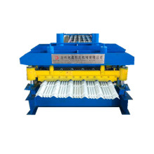 glazed metal steel profile roll forming machine