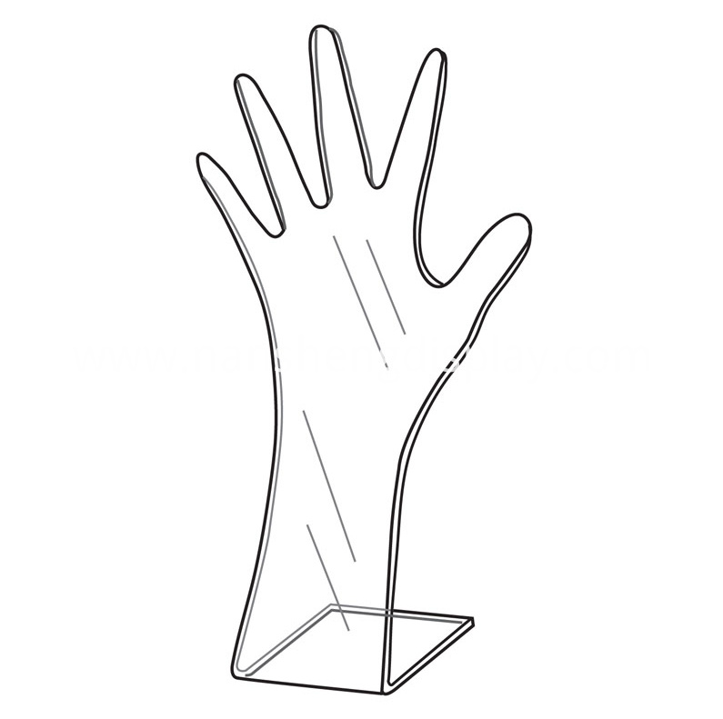 Acrylic Hand Display