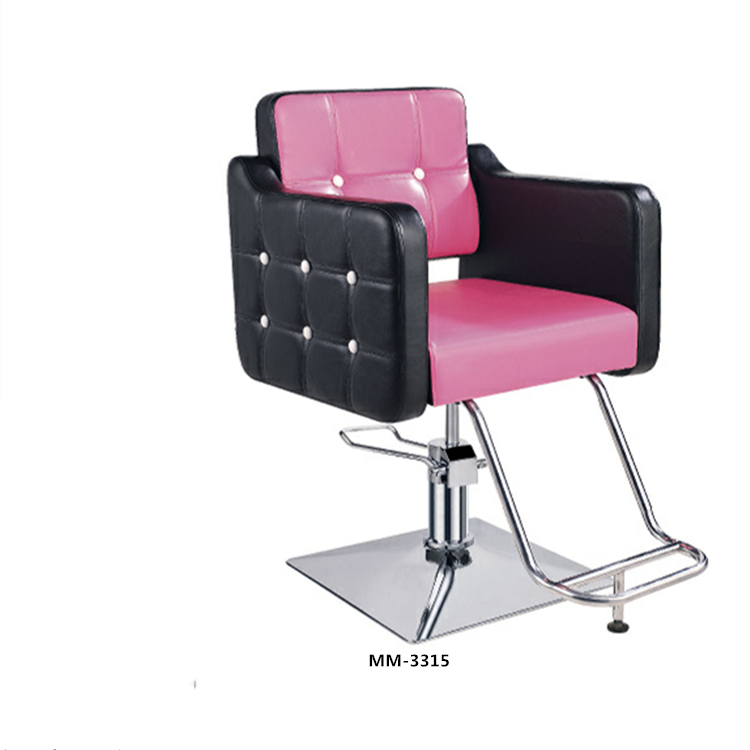 Pink Barber Chair