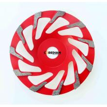 115mm High Quality L Segment Cup Wheel