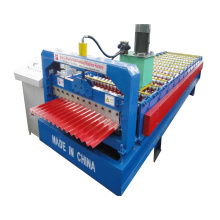 Light Weight Corrugated Sheet Roll Forming Machine