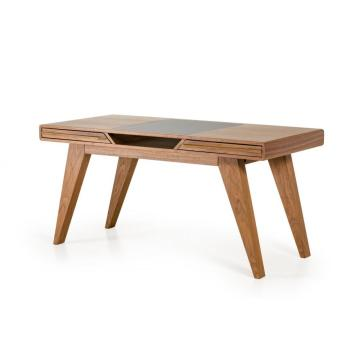 Purchasing for Wood Office Desk Nova Mid-Century Walnut computer desk supply to Spain Suppliers