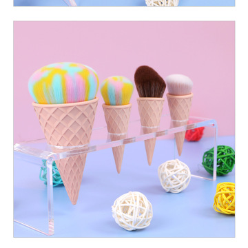 Icecream mermaid makeup brush set
