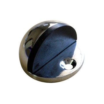 Floor Mount Zinc Alloy Round Door Stop