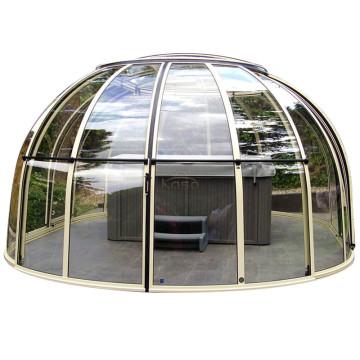 Ground Pool Inground Sun Hot Tub Dome Enclosure