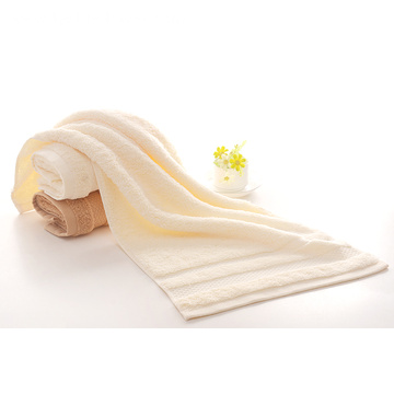 Solid Color Face Towel with Double Satin