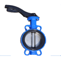 DN400 ductile iron body of butterfly valve for oil