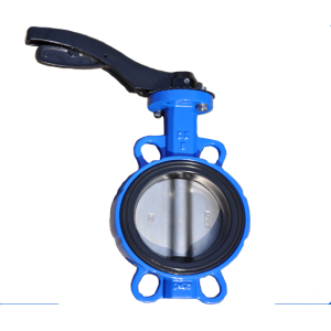 DN40 Handle Operated  Wafer Butterfly Valve