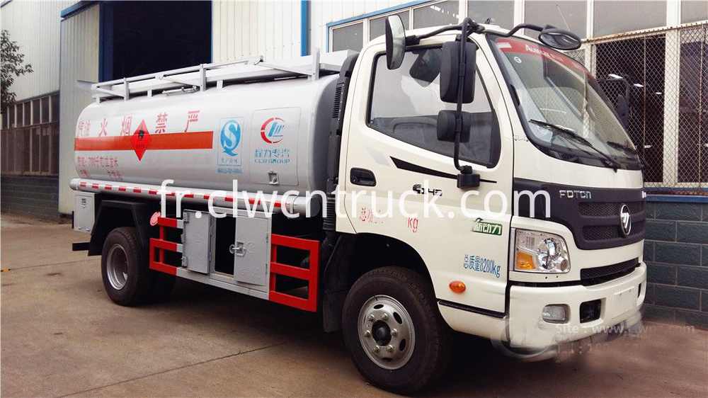 fuel transport tank truck 2