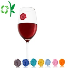 Silicone Personalized Wine DrinkMarkers Creative Birthday
