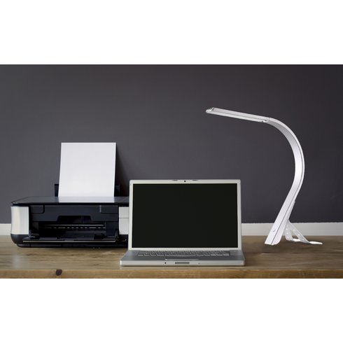 LED touch metal desk light