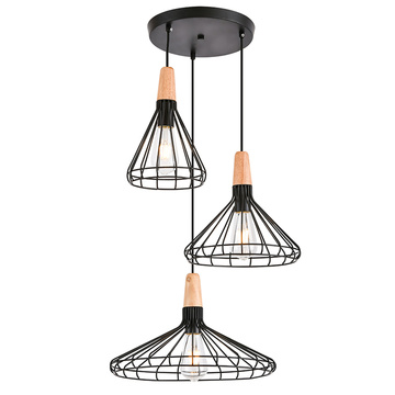 Metal Nordic style pendant light Decorative hanging Lamp