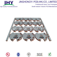 OEM/ODM for Printable Circuit Boards 2oz ENIG Two layer Metal Core PCB supply to South Korea Suppliers