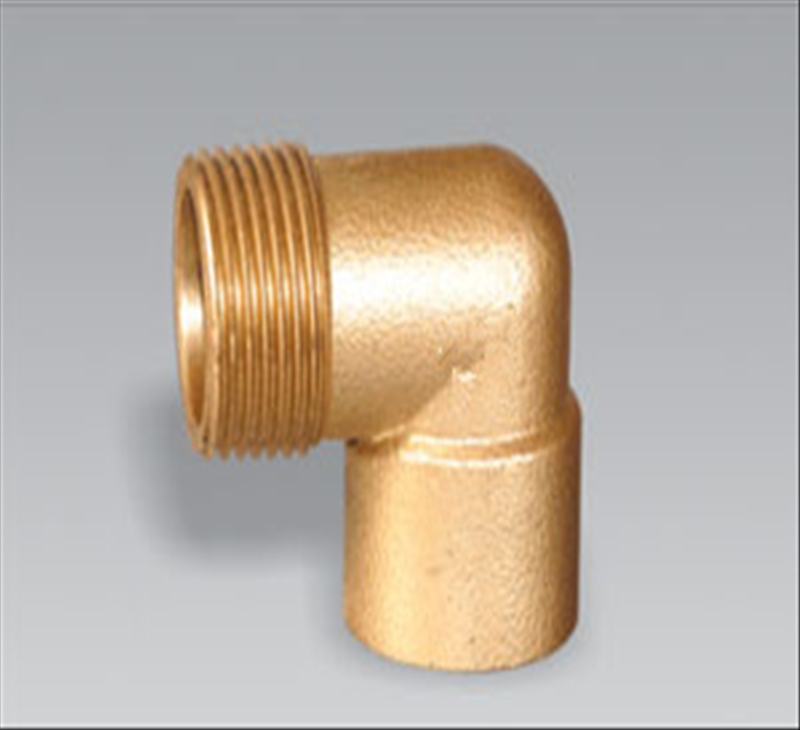 Brass pipe fitting brass 90 Male Equal Elbow