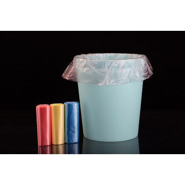 Colorful Plastic Trash Bag on Roll