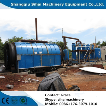 No Pollution Waste Tire Recycling Production Line