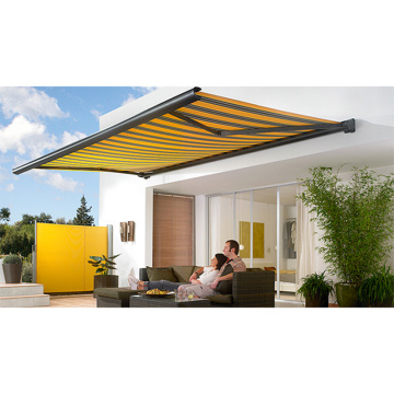 manual modern retractable awning