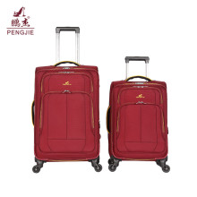 EVA new design fabric soft 4-wheel luggage bag