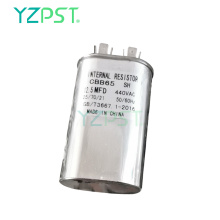 Bopp PolyPropylene film 450V run capacitor