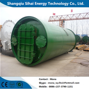 5 Tons capacity rubber recycled pyrolysis machine