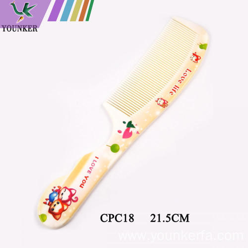 Household ordinary plastic children's adult comb