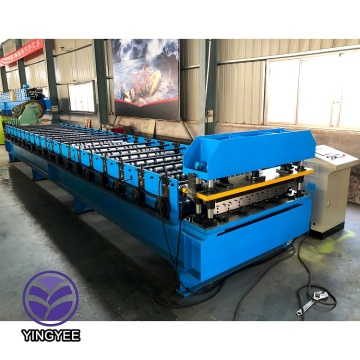Building material corrugated making machine