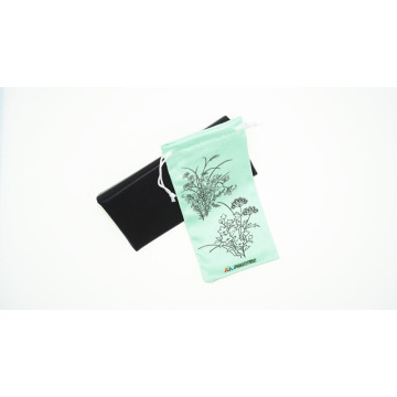 Microfiber Pouch for Mobile Phone with Digital Printing