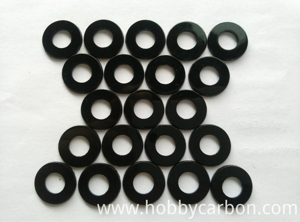 M3 nylon black washer