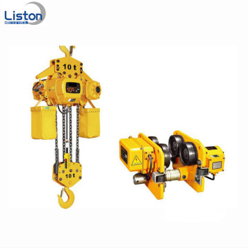 380V 50Hz Electric Chain Hoist with Trolley