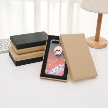 Factory Price Kraft Paper Phone Case Packaging Box
