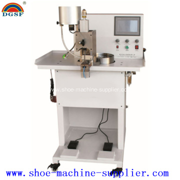 China for China Leather Splitting Machine,Leather Folding Machine,Leather Machine Wholesale Automatic Pearl & Nail Riveting Machine supply to Poland Supplier