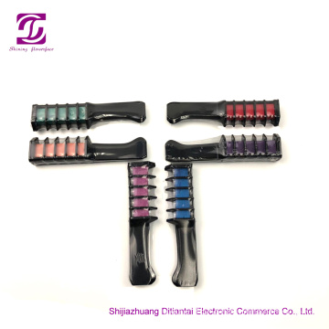 Portable Non-Toxic Washable Hair Dye Comb for cosplay