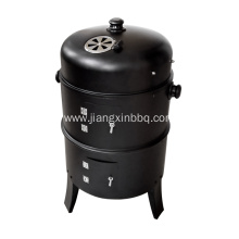 Customized for Picnic Bbq Grill,Kettle Charcoal Grill,Outdoor BBQ Charcoal Grills Manufacturers and Suppliers in China Portable 3 in 1 Charcoal Smoker BBQ Grill export to Portugal Importers