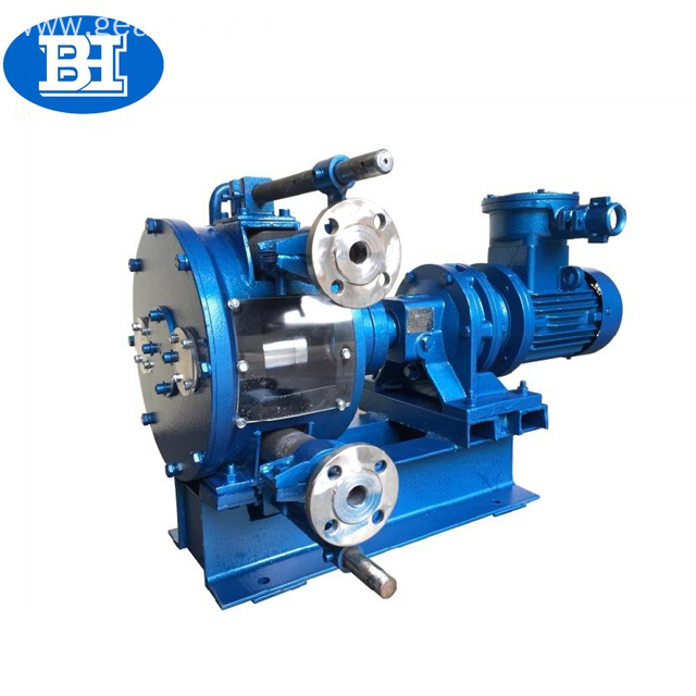 durable industrial peristaltic pump for light weight concrete