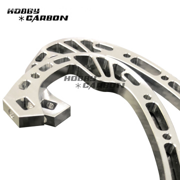 High precision cnc machining aluminum parts Hobbycarbon