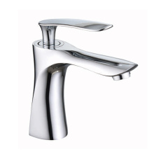 Water saving single lever basin sink taps