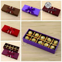 10 Packs with Lid Chocolate Box Set Gift